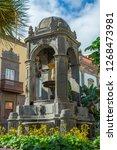 plaza del espiritu santo   old... | Shutterstock . vector #1268473981