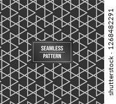 geometric pattern background.... | Shutterstock .eps vector #1268482291