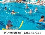 alanya  turkey   october 05 ... | Shutterstock . vector #1268487187