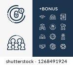 human resource icon set and...
