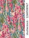 lavender colorful vector design ... | Shutterstock .eps vector #1268508967
