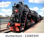 One Of The Steam Locomotives I...