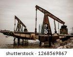 an old dockyard | Shutterstock . vector #1268569867
