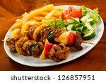 Grilled Meat With French Fries...