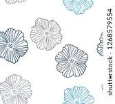 dark blue vector seamless...   Shutterstock .eps vector #1268579554