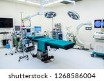 Empty Modern Operating Room At...