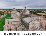 view of cathedral square with... | Shutterstock . vector #1268589307