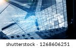 wireless technologies and... | Shutterstock . vector #1268606251