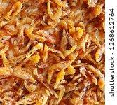 fire little shrimp snack | Shutterstock . vector #1268612764