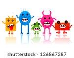 vector illustration of... | Shutterstock .eps vector #126867287
