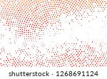 light red vector backdrop with... | Shutterstock .eps vector #1268691124