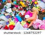 Pile Of Abandoned Plastic...