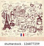 vector hand drawn illustration...   Shutterstock .eps vector #126877259