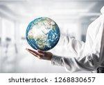 side view closeup of business... | Shutterstock . vector #1268830657