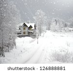 Winter's Home. Cottage In A...