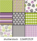 Nine Fabric Patterns