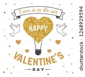 happy valentines day. all you...   Shutterstock .eps vector #1268929594