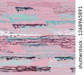 grunge stripes line. chalk...   Shutterstock .eps vector #1268965891