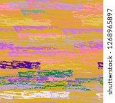 grunge stripes line. chalk...   Shutterstock .eps vector #1268965897