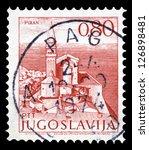 yugoslavia   circa 1972  a... | Shutterstock . vector #126898481