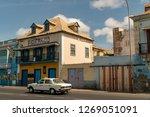 mindelo  cape verde   october...   Shutterstock . vector #1269051091