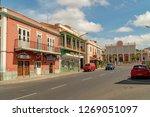 mindelo  cape verde   october... | Shutterstock . vector #1269051097