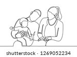 continuous line drawing of...   Shutterstock .eps vector #1269052234