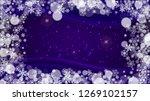winter frame with ultraviolet... | Shutterstock .eps vector #1269102157
