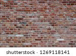 Beautiful Wall Of Bricks With...