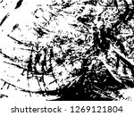 grunge abstract black... | Shutterstock .eps vector #1269121804