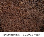 Small photo of Substratum texture pattern background for garden agriculture coconut fiber