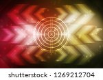 2d illustration technology... | Shutterstock . vector #1269212704