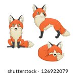 a set of 3 illustrations... | Shutterstock .eps vector #126922079