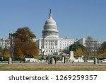 washington dc  usa   nov 24 ... | Shutterstock . vector #1269259357