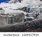 Glacier Waterfall Mountain