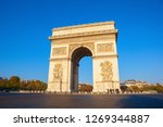 paris france oct 21  one of the ... | Shutterstock . vector #1269344887