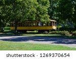 train in minneapolis | Shutterstock . vector #1269370654
