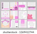 12 slides unique editable... | Shutterstock .eps vector #1269412744