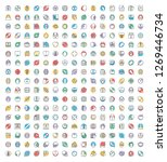 medical and health icons set    Shutterstock .eps vector #1269446734