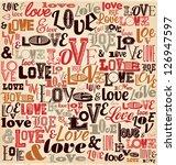 Typographic Valentines Day...