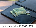 twenty baht bank two cards are... | Shutterstock . vector #1269481771