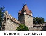 Reckturm in old town of Wiener Neustadt in Austria