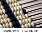 vintage abacus for mathematic... | Shutterstock . vector #1269533734