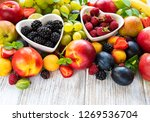 Fresh Summer Fruits And Berrie...
