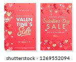 valentines day special offer... | Shutterstock .eps vector #1269552094