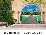 3d wallpaper design background... | Shutterstock . vector #1269637864