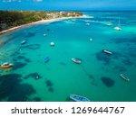 bain boeuf mauriutius.... | Shutterstock . vector #1269644767