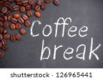Chalkboard With Text  Coffee...