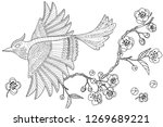 coloring pages. colouring... | Shutterstock .eps vector #1269689221