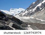 the corbassiere glacier is a...   Shutterstock . vector #1269743974